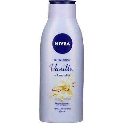 Nivea Body Lotion Vanilla Almond Oil 400ml