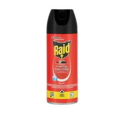 Raid Crawling Insect Killer 6x300ml