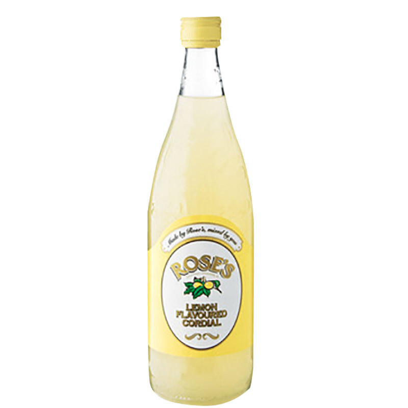 Roses Lemon Cordial 750ml