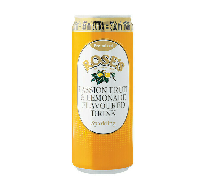 Roses Passion Fruit & Lemonade Drink 6x330ml
