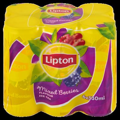 Lipton Ice Tea Mixed Berries 6x330ml