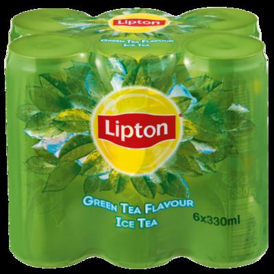 Lipton Ice Tea Green Tea 6x330ml