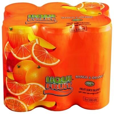 LiquiFruit  Mango & Orange 6x330ml