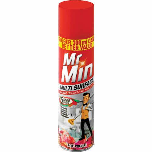 Mr Min Surface Cleaner Potpourri 6x300ml