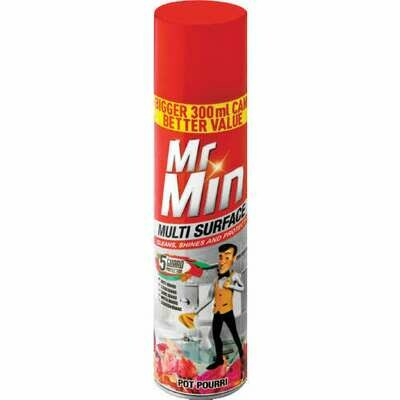 Mr Min Surface Cleaner Potpourri 6x300ml