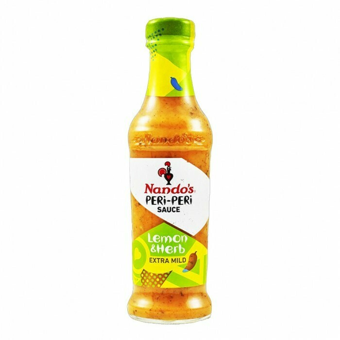Nandos Peri Peri Sauce Lemon & Herb 250g