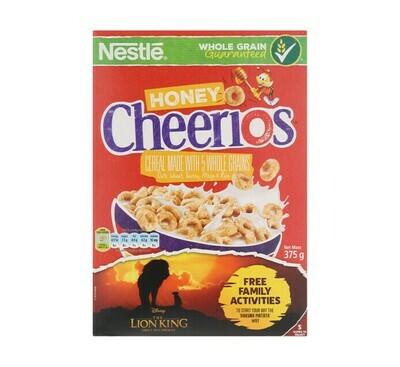 Nestle Honey Cheerios Cereal 375g