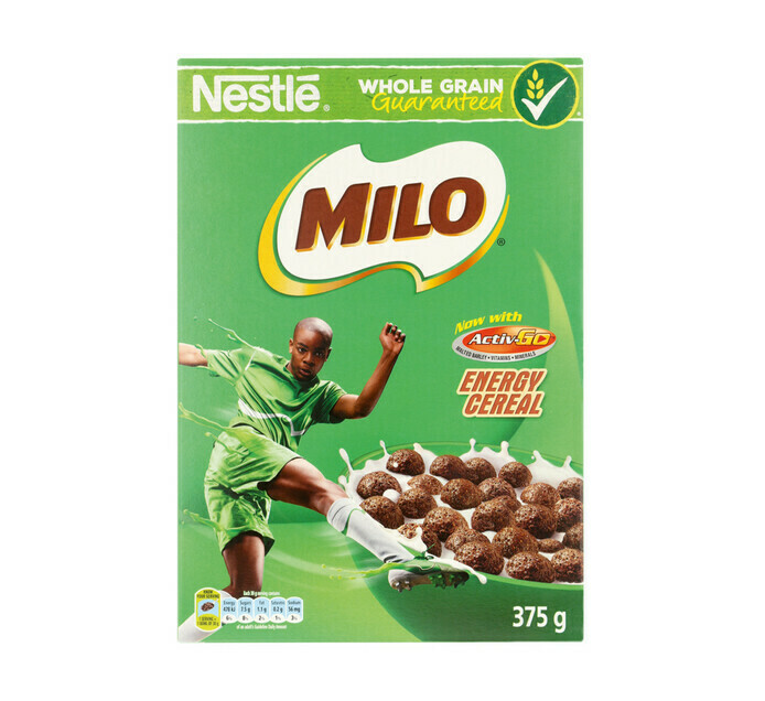 Nestle Milo Energy Cereal 375g