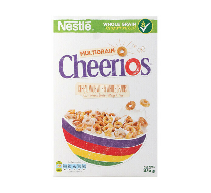 Nestle Multigrain Cheerios Cereal 375g