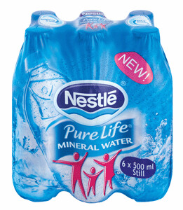 Nestle Pure Life Still Water 6x500ml