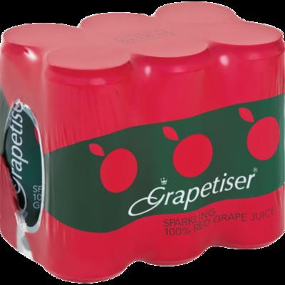 Grapetiser 100% Red Grape Juice 6x330ml