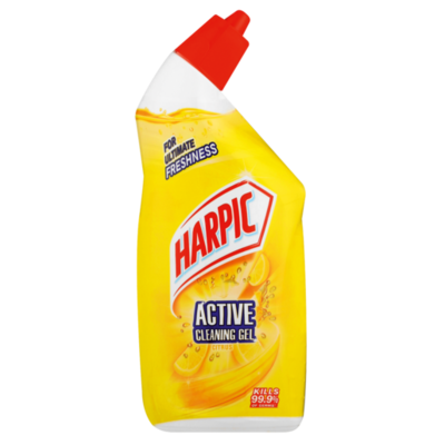 Harpic Active Cleaning Gel Citrus 6x500ml
