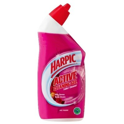 Harpic Active Cleaning Gel Pot Pourri 6x500ml