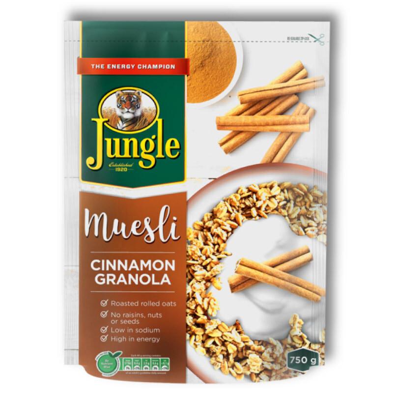 Jungle Muesli Cinnamon Granola 750g