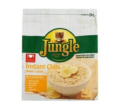 Jungle Instant Oats Banana 750g