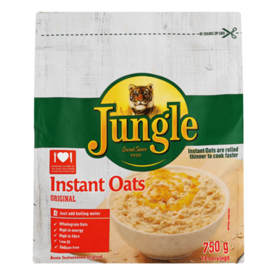 Jungle Instant Oats Original 750g