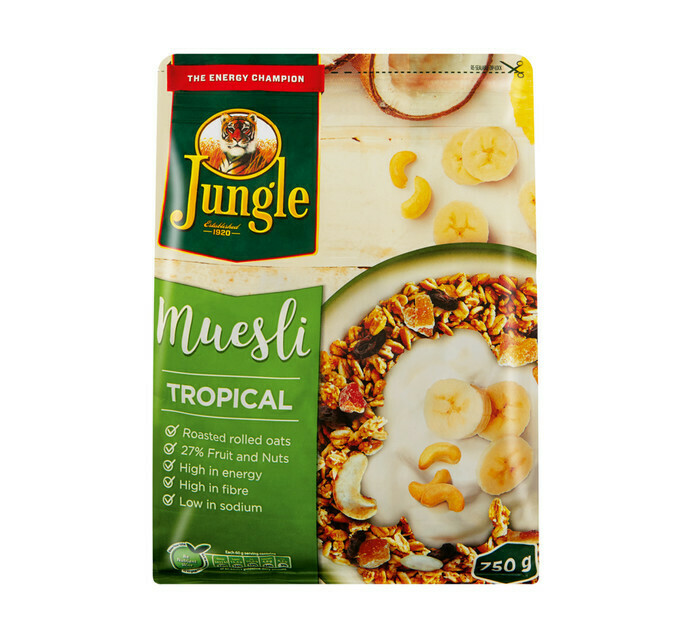 Jungle Muesli Tropical 750g