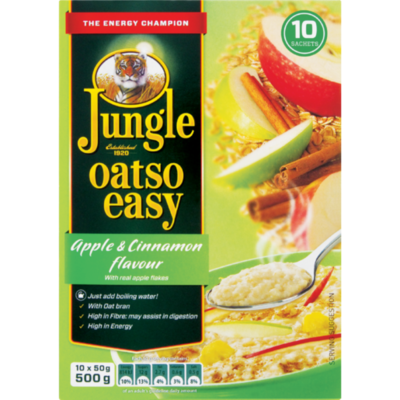 Jungle Oatso Easy Apple & Cinnamon 500g