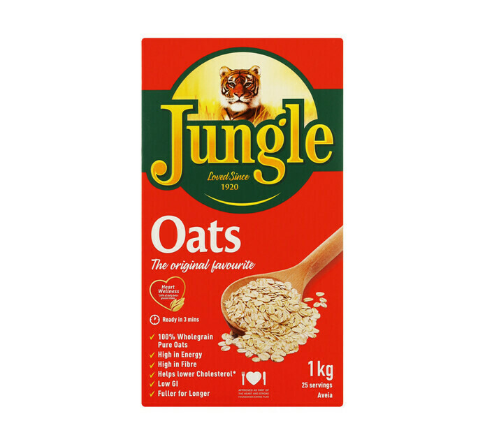 Jungle Oats Original 1kg