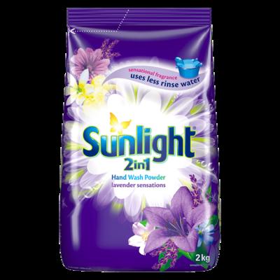 Sunlight 2in1 Handwashing Powder Lavender Sensations 2kg