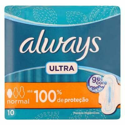 Always Ultra Normal Sanitary Pads 10's