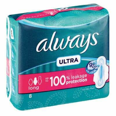 Always Ultra Long Sanitary Pads 8's
