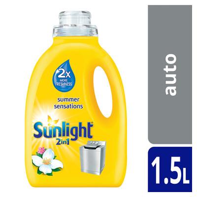 Sunlight Automatic Laundry Liquid Summer  Sensations 1.5lt