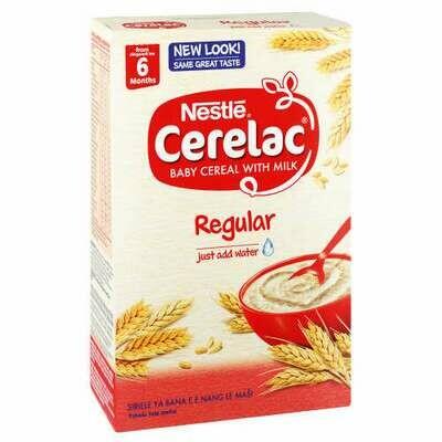 Nestle Cerelac With Milk 6 Months Regular 250g