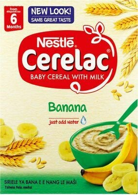 Nestle Cerelac With Milk 6 Months Banana 250g