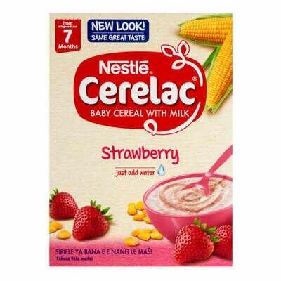 Nestle Cerelac With Milk  7 Months Strawberry 250g