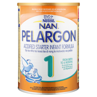 Nestle Nan Pelargon 1  Acified Starter Infant Formula 400g