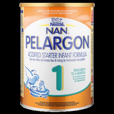 Nestle Nan Pelargon 1  Acified Starter Infant Formula 6x400g