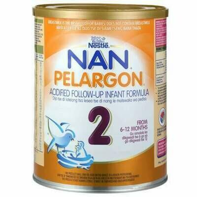 Nestle Nan Pelargon 2  Acified Follow Up Formula 6x400g