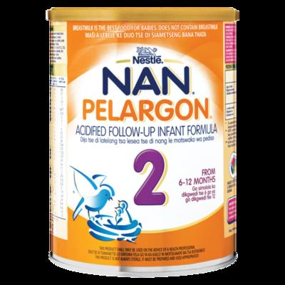 Nestle Nan Pelargon 2  Acified Follow Up Formula 900g