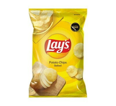 Lays Potato Chips Salted 120g