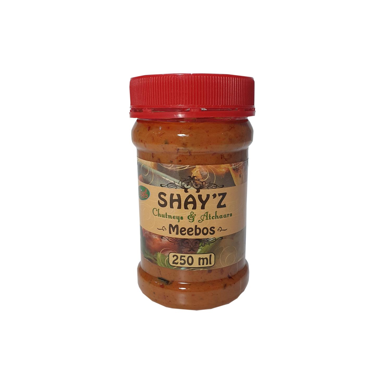 Shayz Chutney Meebos 250ml