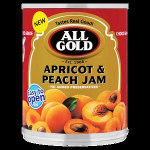 All Gold Apricot & Peach Jam 450g