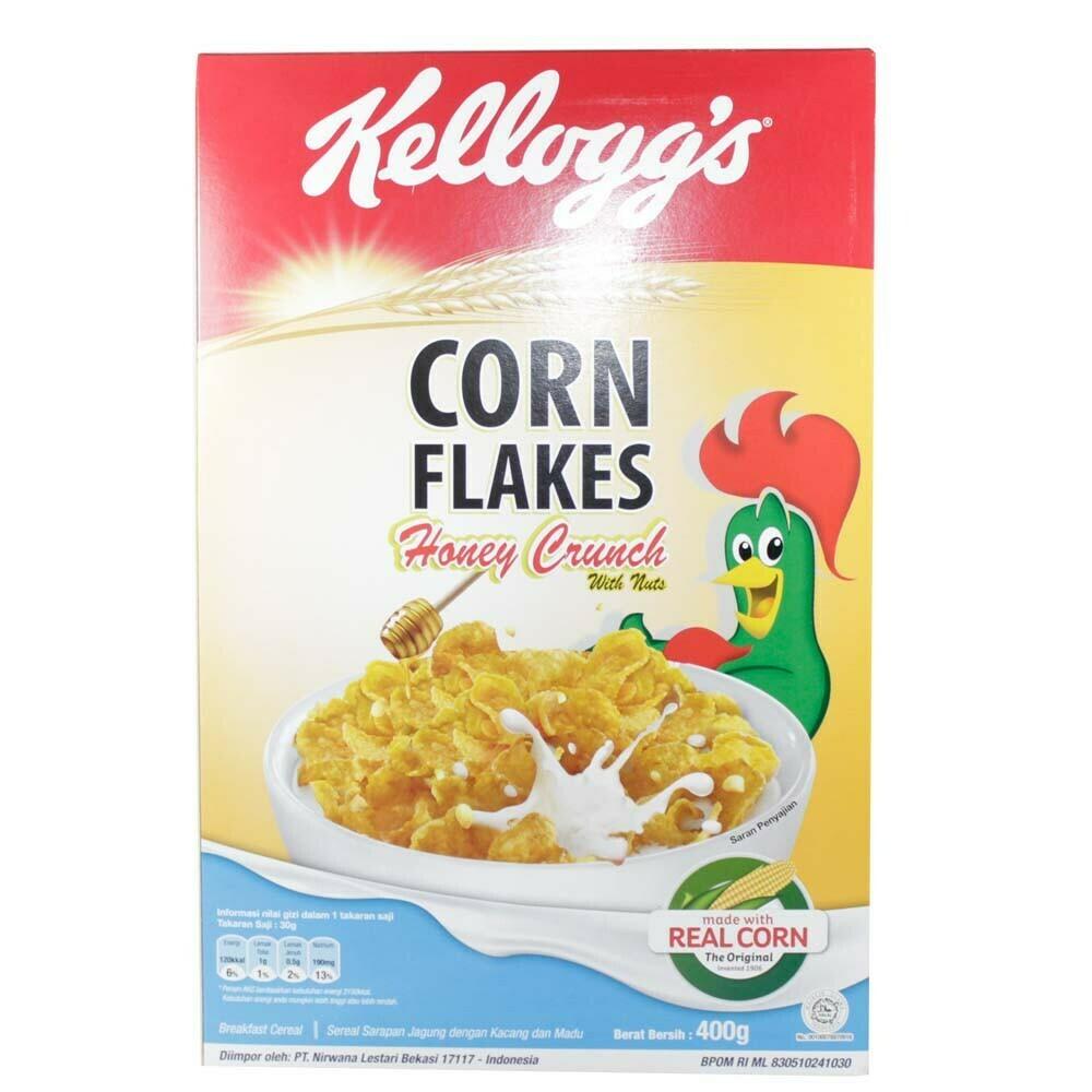 Kellogg's Corn Flakes Honey Crunch 400g