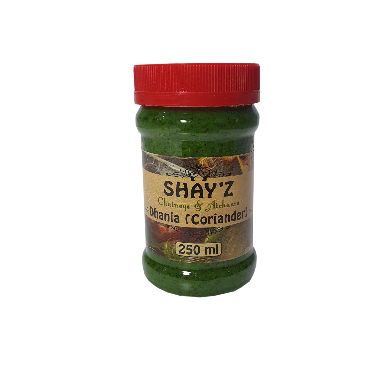 Shayz Chutney Corriander 250ml