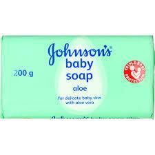 Johnson's Baby Soap Aloe 12x175g