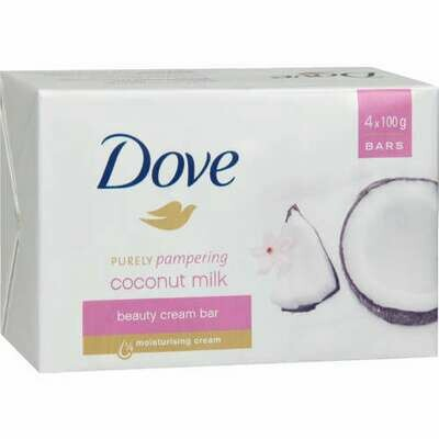 Dove Soap Cocunut Milk 4x100g