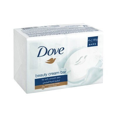 Dove Soap Beauty Cream Bar 4x100g
