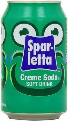 Sparletta Creme Soda 6x400ml