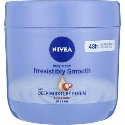 Nivea Body Cream Irresistibly Smooth Deep Moisture Serum & Shea Butter 400ml