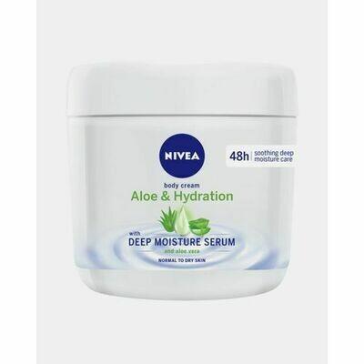 Nivea Body Cream Aloe & Hydration Deep Moisture Serum 400ml