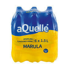 Aquelle Flavoured Water Marula 6x500ml