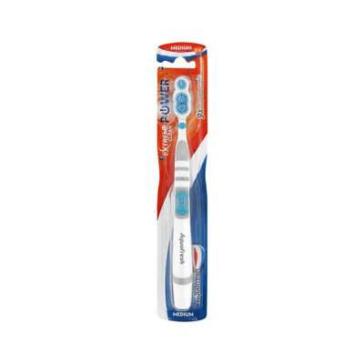 Aquafresh Extreme Clean Power Toothbrush Blue