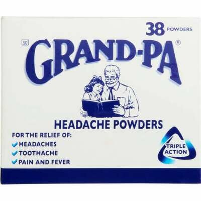 Grandpa Headache Powders 38 Pack
