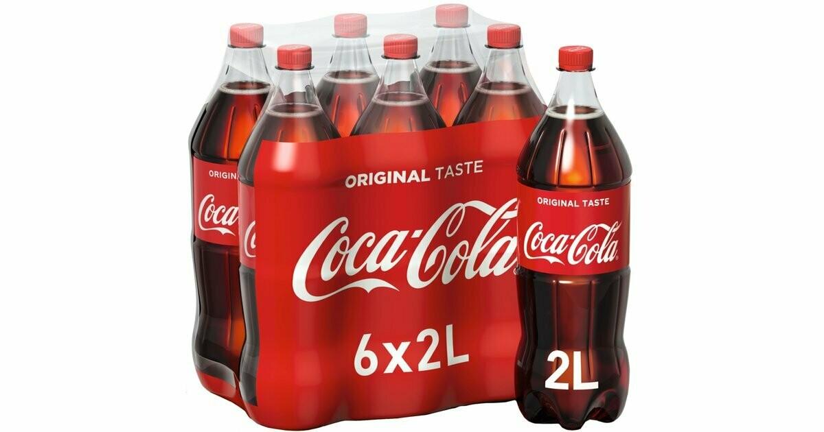 Coca Cola 6x2lt