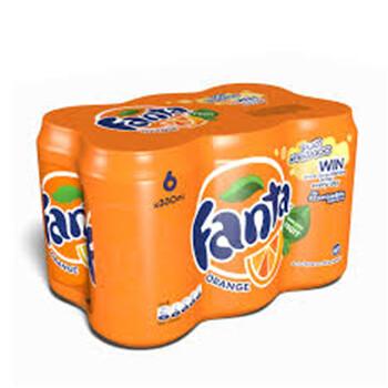 Fanta Orange 6x400ml